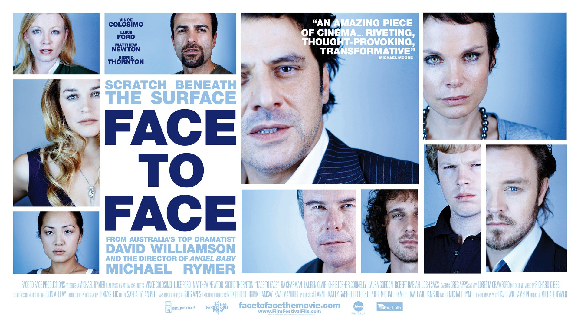 Face to Face - Poster Landscape