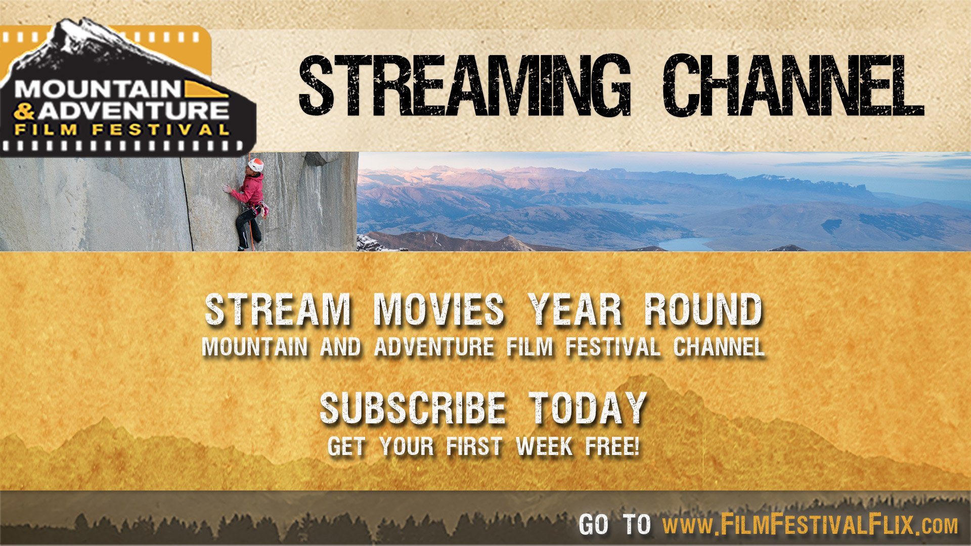 The Mountain & Adventure Film Festival Channel