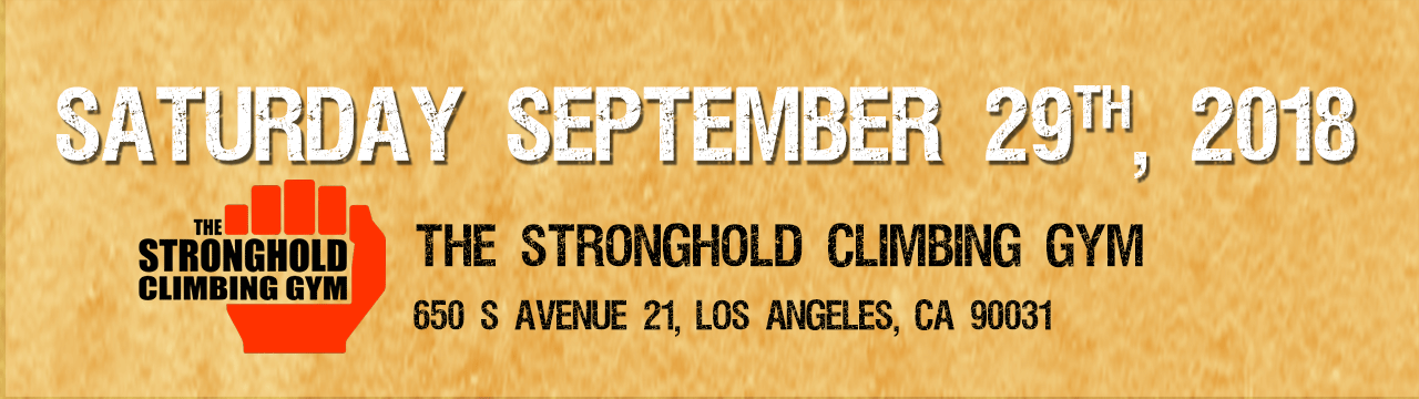 MAFF Gathering - Friday September 29th at the Stronghold Climbing Gym
