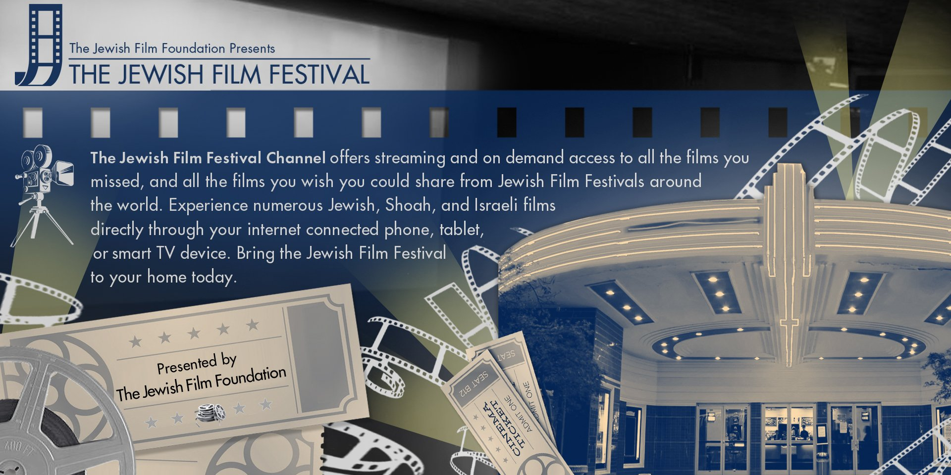 The Jewish Film Festival Channel