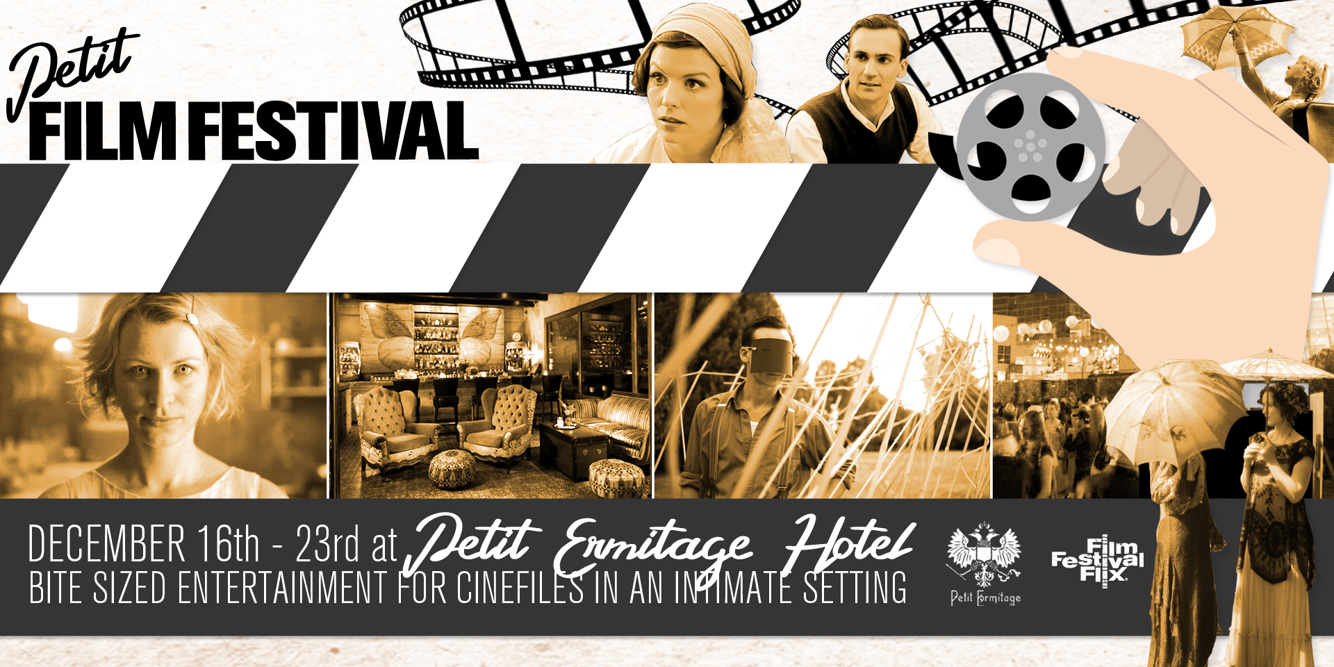 Petit Film Festival at the Petit Ermitage Hotel