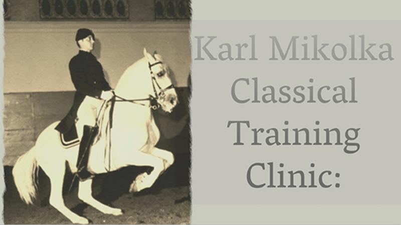 Karl Mikolka Classical Training