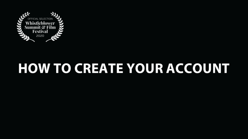 How to Create Your Account