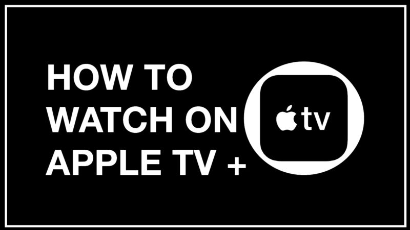 Connect to your TV with Apple TV+
