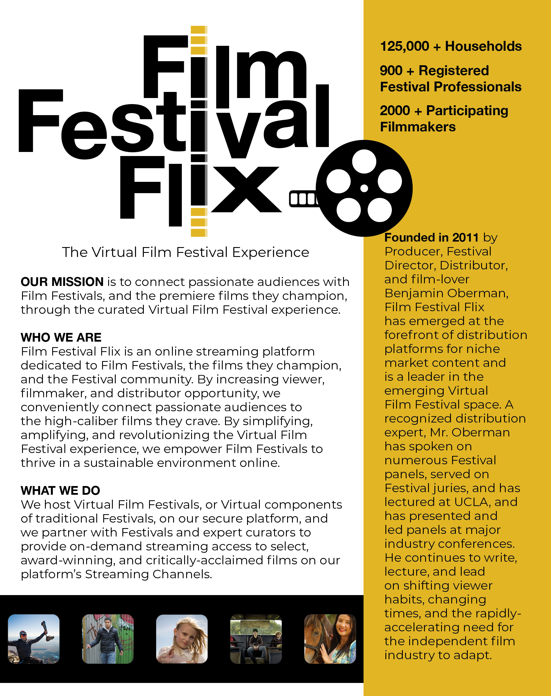Film Festival Flix for Press and Industry