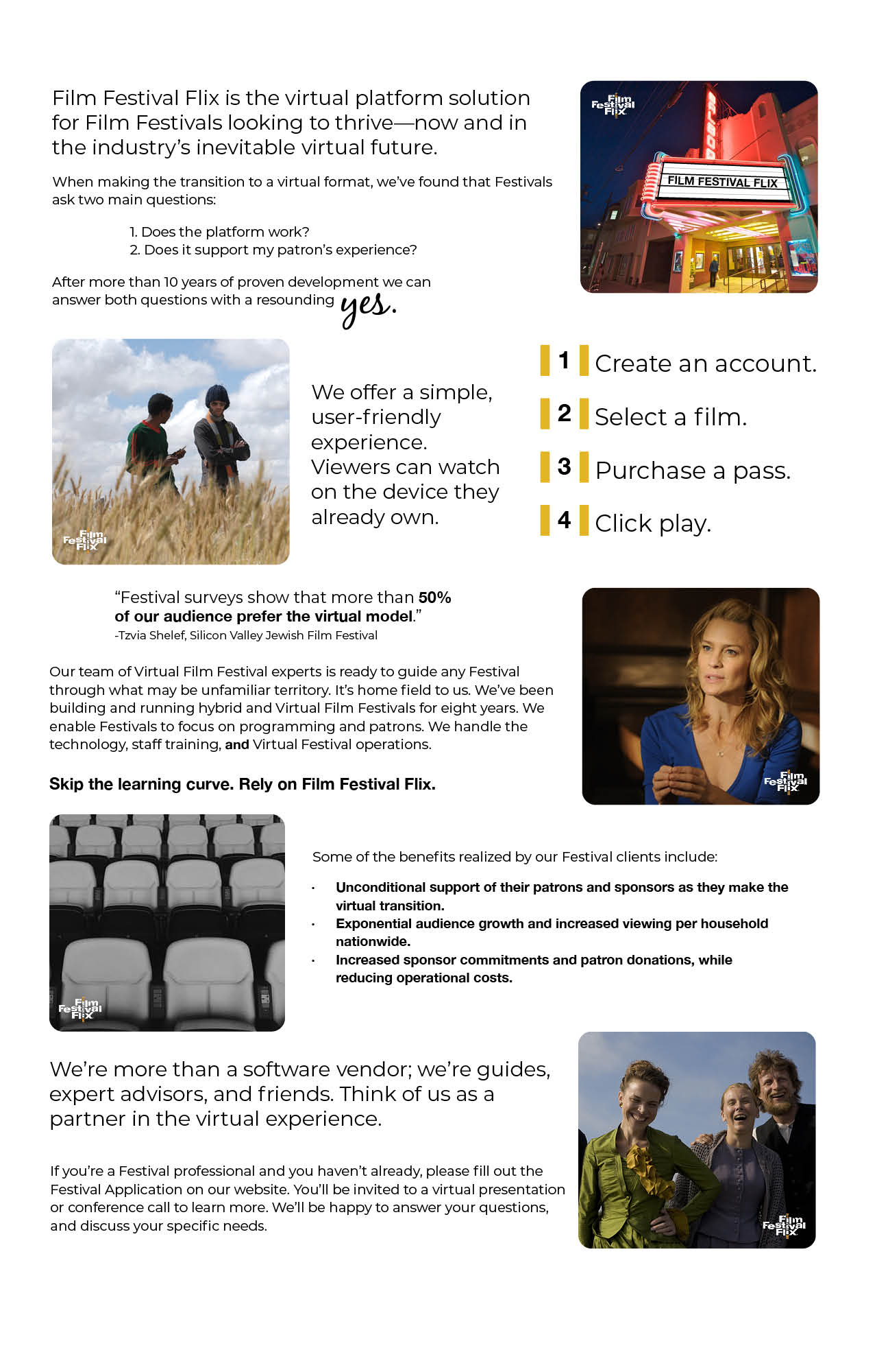 About Film Festival Flix for Festival Professionals